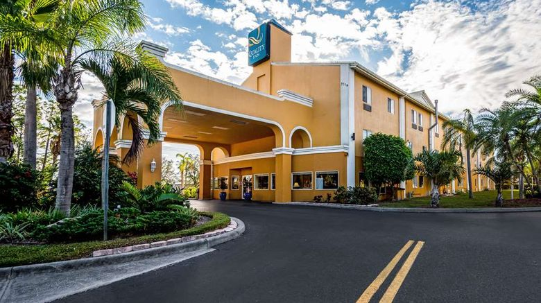 """Quality Inn Sarasota Exterior. Images powered by <a href=""""http://web.iceportal.com"""" target=""""_blank"""" rel=""""noopener"""">Ice Portal</a>."""