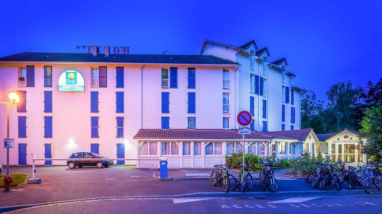 """Comfort Inn Strasbourg Exterior. Images powered by <a href=""""http://web.iceportal.com"""" target=""""_blank"""" rel=""""noopener"""">Ice Portal</a>."""