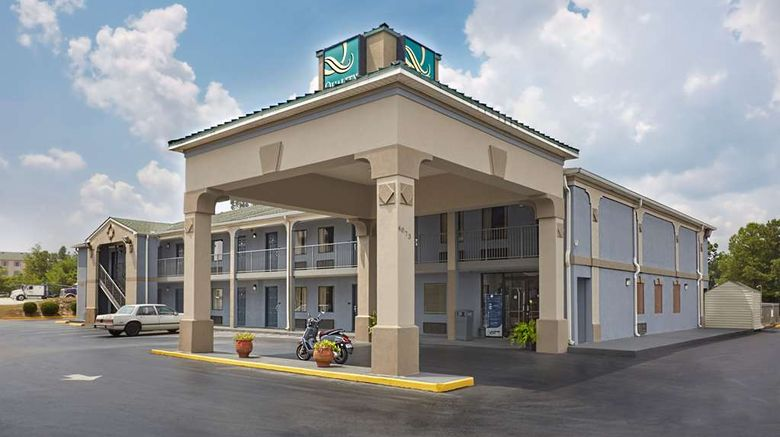"""Quality Inn at Fort Gordon Exterior. Images powered by <a href=""""http://web.iceportal.com"""" target=""""_blank"""" rel=""""noopener"""">Ice Portal</a>."""