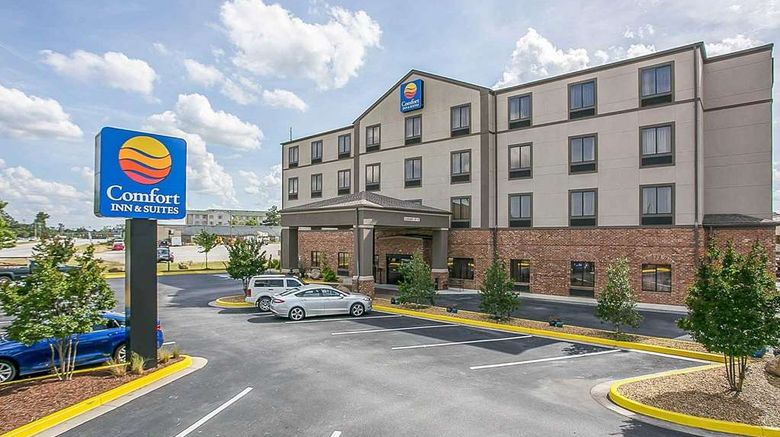 """Comfort Inn  and  Stes near Fort Gordon Exterior. Images powered by <a href=""""http://web.iceportal.com"""" target=""""_blank"""" rel=""""noopener"""">Ice Portal</a>."""