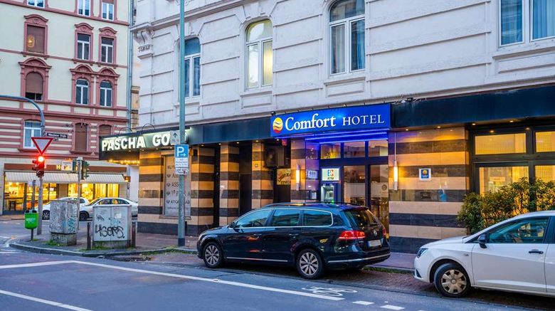 """Comfort Hotel Frankfurt City Centre Exterior. Images powered by <a href=""""http://web.iceportal.com"""" target=""""_blank"""" rel=""""noopener"""">Ice Portal</a>."""