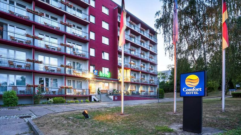 """Comfort Hotel Weimar Exterior. Images powered by <a href=""""http://web.iceportal.com"""" target=""""_blank"""" rel=""""noopener"""">Ice Portal</a>."""