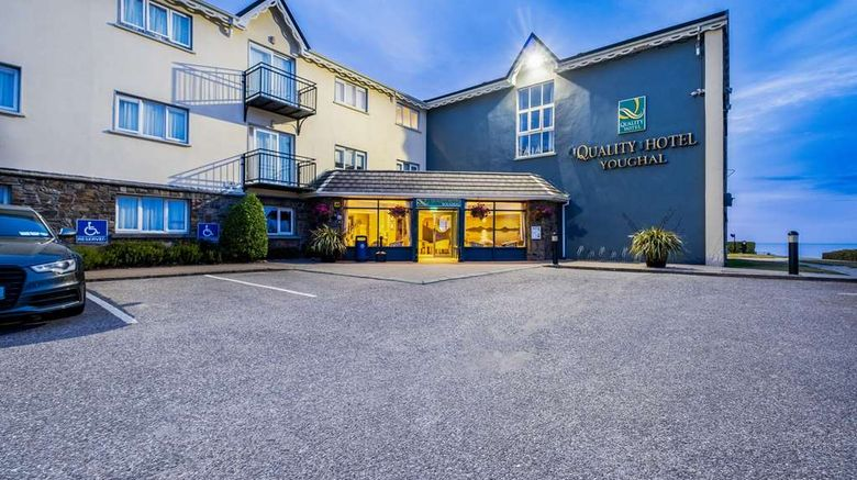 """Quality Hotel  and  Leisure Center Youghal Exterior. Images powered by <a href=""""http://web.iceportal.com"""" target=""""_blank"""" rel=""""noopener"""">Ice Portal</a>."""