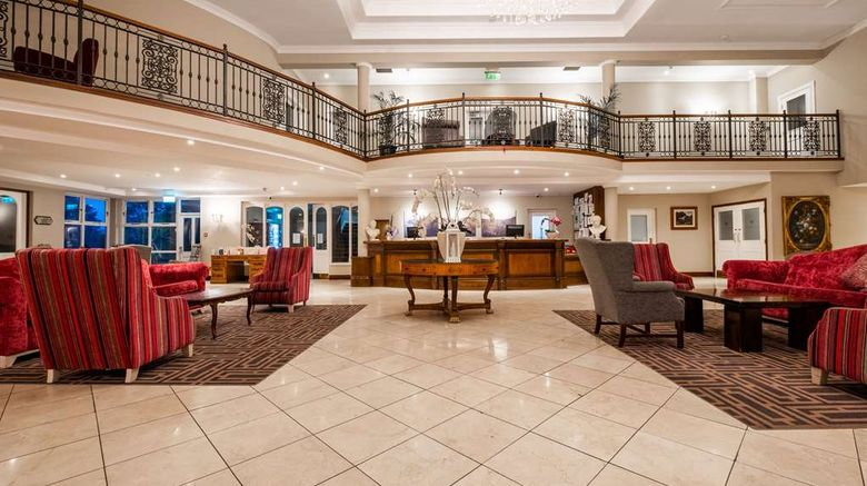"""Hotel Woodstock, an Ascend Hotel Lobby. Images powered by <a href=""""http://web.iceportal.com"""" target=""""_blank"""" rel=""""noopener"""">Ice Portal</a>."""