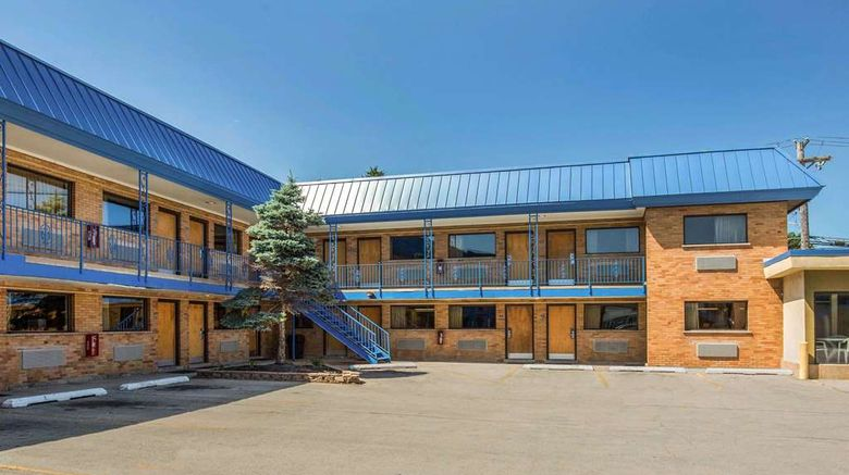 """Rodeway Inn Lyons Exterior. Images powered by <a href=""""http://web.iceportal.com"""" target=""""_blank"""" rel=""""noopener"""">Ice Portal</a>."""