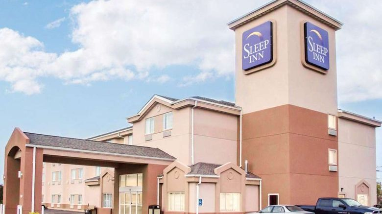 """Sleep Inn OFallon Exterior. Images powered by <a href=""""http://web.iceportal.com"""" target=""""_blank"""" rel=""""noopener"""">Ice Portal</a>."""