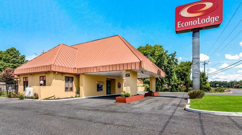 """Econo Lodge Pocomoke City Exterior. Images powered by <a href=""""http://web.iceportal.com"""" target=""""_blank"""" rel=""""noopener"""">Ice Portal</a>."""