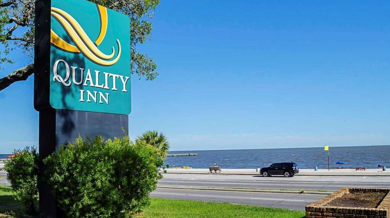 """Quality Inn Biloxi Beach Exterior. Images powered by <a href=""""http://web.iceportal.com"""" target=""""_blank"""" rel=""""noopener"""">Ice Portal</a>."""