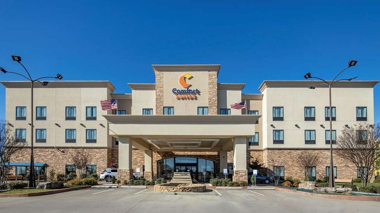 """Comfort Suites Batesville Exterior. Images powered by <a href=""""http://web.iceportal.com"""" target=""""_blank"""" rel=""""noopener"""">Ice Portal</a>."""