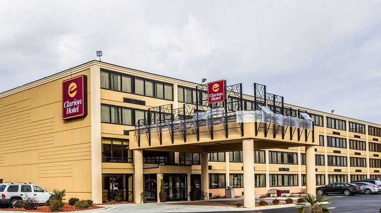 """Clarion Hotel  and  Conference Center Exterior. Images powered by <a href=""""http://web.iceportal.com"""" target=""""_blank"""" rel=""""noopener"""">Ice Portal</a>."""