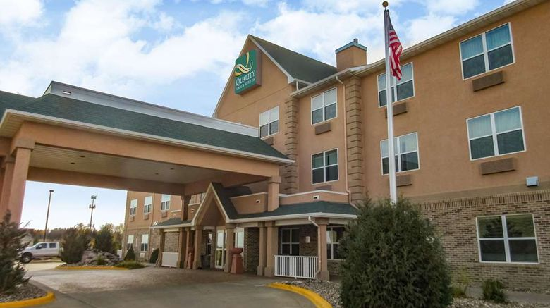 """Quality Inn  and  Suites Dickinson Exterior. Images powered by <a href=""""http://web.iceportal.com"""" target=""""_blank"""" rel=""""noopener"""">Ice Portal</a>."""