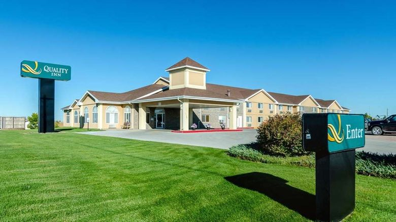 """Quality Inn Alliance Exterior. Images powered by <a href=""""http://web.iceportal.com"""" target=""""_blank"""" rel=""""noopener"""">Ice Portal</a>."""