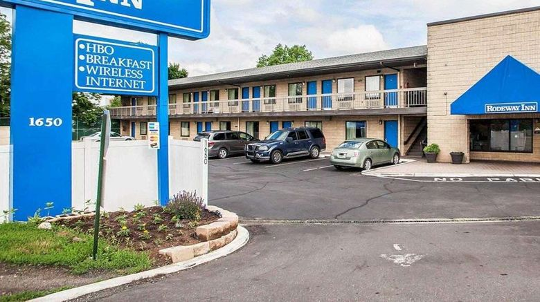 """Rodeway Inn Exterior. Images powered by <a href=""""http://web.iceportal.com"""" target=""""_blank"""" rel=""""noopener"""">Ice Portal</a>."""