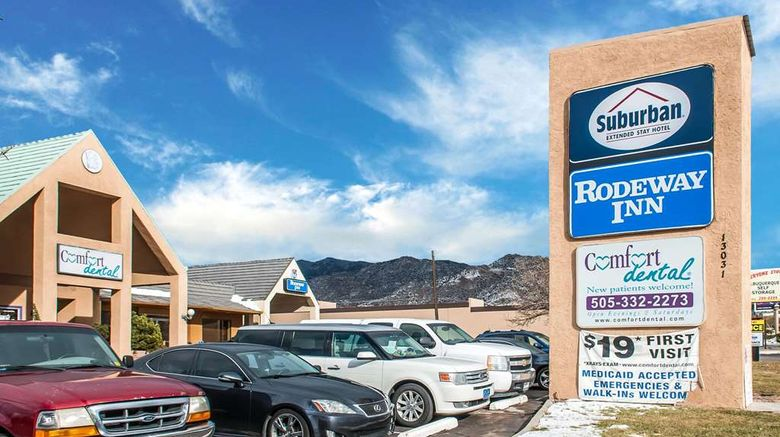 """Suburban Extended Stay Hotel East Exterior. Images powered by <a href=""""http://web.iceportal.com"""" target=""""_blank"""" rel=""""noopener"""">Ice Portal</a>."""