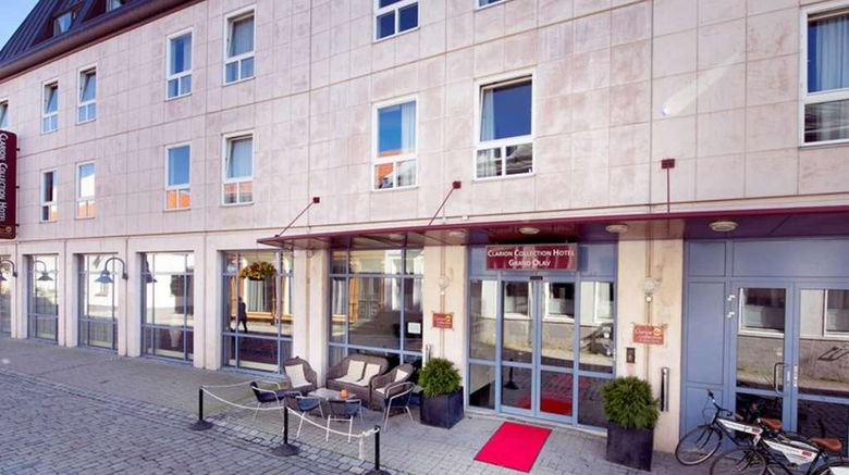 """Clarion Collection Hotel Grand Olav Exterior. Images powered by <a href=""""http://web.iceportal.com"""" target=""""_blank"""" rel=""""noopener"""">Ice Portal</a>."""