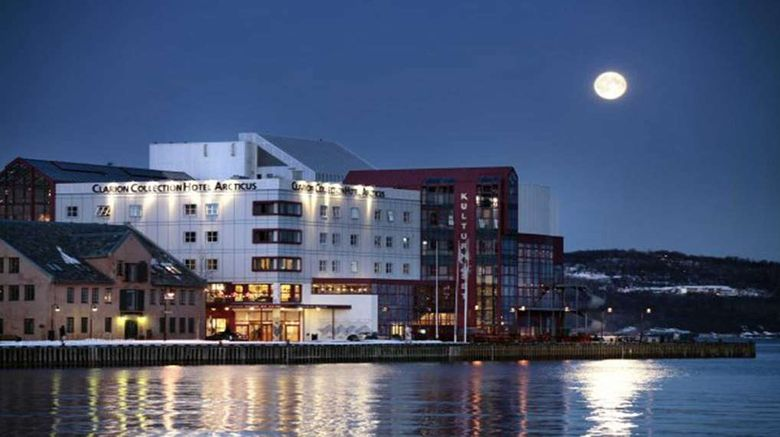 """Clarion Collection Hotel Arcticus Exterior. Images powered by <a href=""""http://web.iceportal.com"""" target=""""_blank"""" rel=""""noopener"""">Ice Portal</a>."""