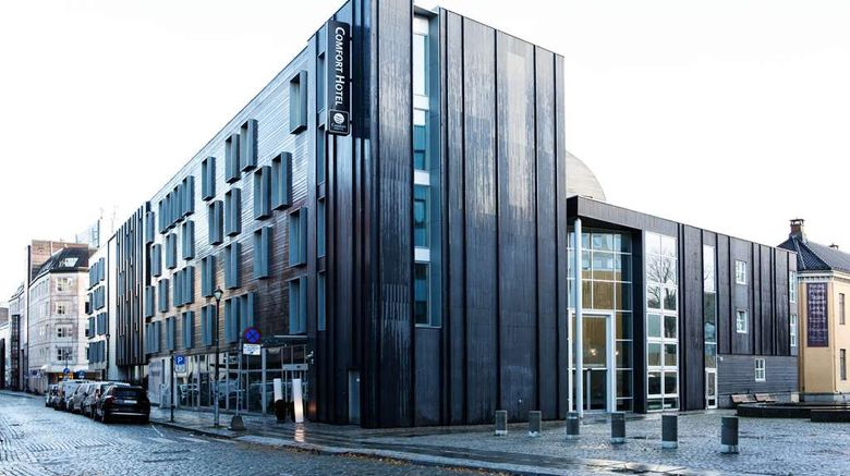 """Comfort Hotel Trondheim Exterior. Images powered by <a href=""""http://web.iceportal.com"""" target=""""_blank"""" rel=""""noopener"""">Ice Portal</a>."""