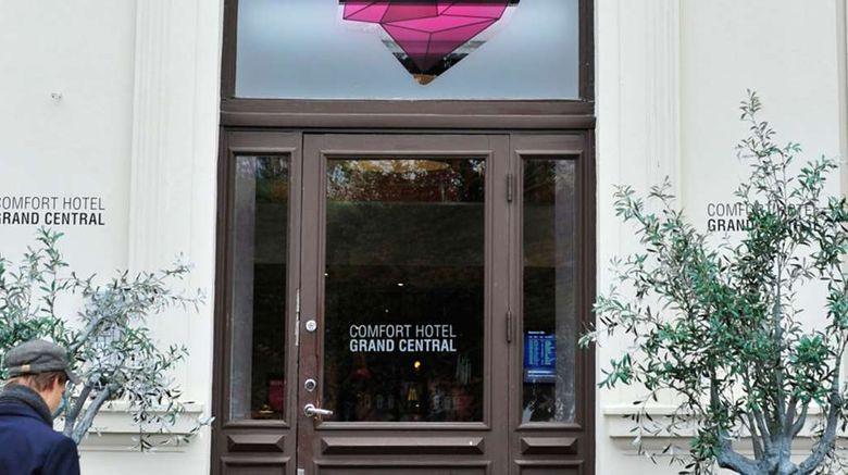 """Comfort Hotel Grand Central Exterior. Images powered by <a href=""""http://web.iceportal.com"""" target=""""_blank"""" rel=""""noopener"""">Ice Portal</a>."""