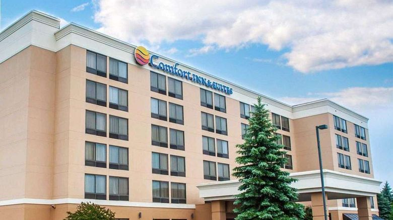"""Comfort Inn  and  Suites Watertown Exterior. Images powered by <a href=""""http://web.iceportal.com"""" target=""""_blank"""" rel=""""noopener"""">Ice Portal</a>."""