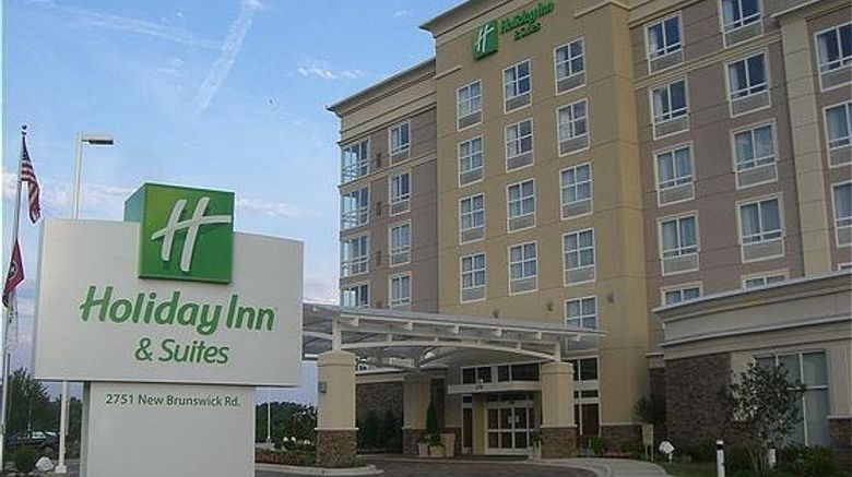 """Holiday Inn Hotel  and  Suites Exterior. Images powered by <a href=""""http://www.leonardo.com"""" target=""""_blank"""" rel=""""noopener"""">Leonardo</a>."""