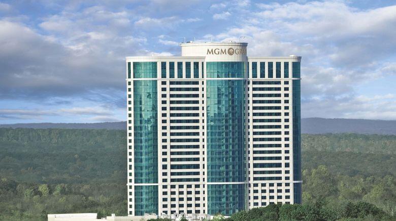 "The Fox Tower at Foxwoods Resort Casino Exterior. Images powered by <a href=""http://www.leonardo.com"" target=""_blank"" rel=""noopener"">Leonardo</a>."