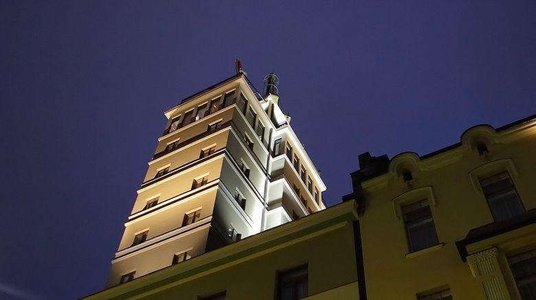 "Solo Sokos Hotel Torni Exterior. Images powered by <a href=""http://www.leonardo.com"" target=""_blank"" rel=""noopener"">Leonardo</a>."