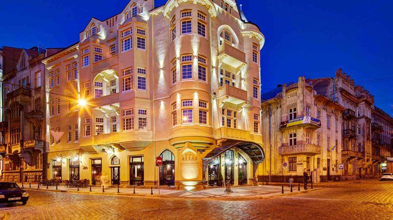"Atlas Deluxe Hotel, Lviv Exterior. Images powered by <a href=""http://www.leonardo.com"" target=""_blank"" rel=""noopener"">Leonardo</a>."