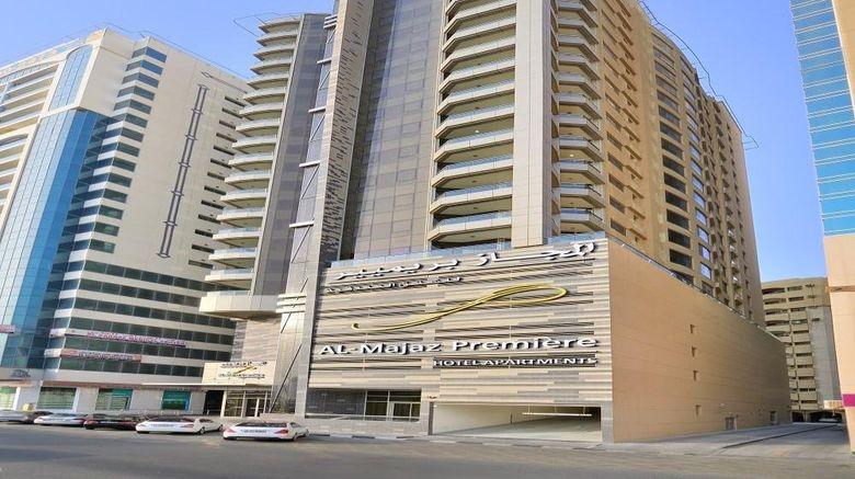 "Al Majaz Premiere Deluxe Hotel Exterior. Images powered by <a href=""http://www.leonardo.com"" target=""_blank"" rel=""noopener"">Leonardo</a>."