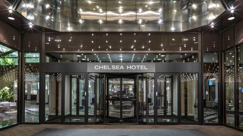 "Chelsea Hotel, Toronto Exterior. Images powered by <a href=""http://www.leonardo.com"" target=""_blank"" rel=""noopener"">Leonardo</a>."