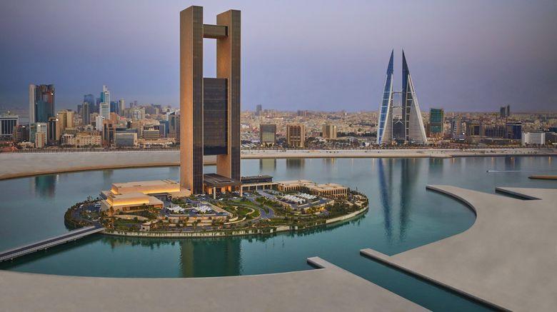 "Four Seasons Hotel Bahrain Bay Exterior. Images powered by <a href=""http://www.leonardo.com"" target=""_blank"" rel=""noopener"">Leonardo</a>."