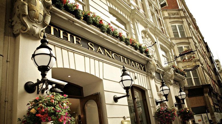"Sanctuary House Hotel Exterior. Images powered by <a href=""http://www.leonardo.com"" target=""_blank"" rel=""noopener"">Leonardo</a>."