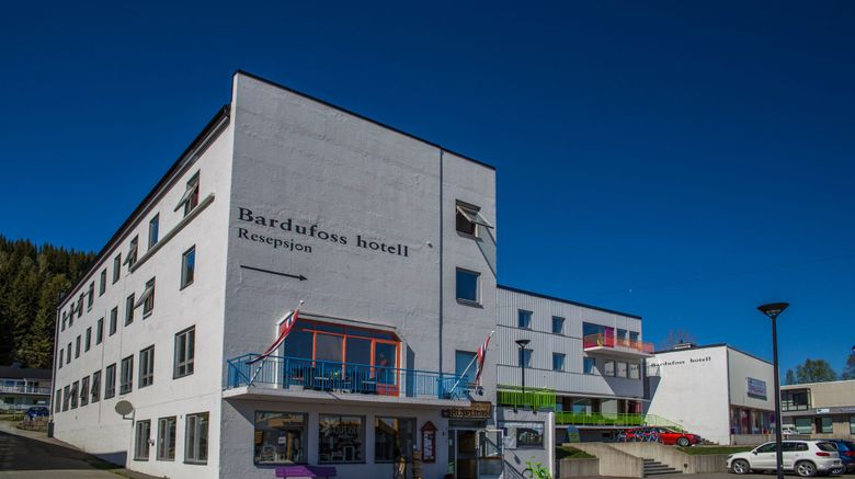 "Bardufoss Hotel Exterior. Images powered by <a href=""http://www.leonardo.com"" target=""_blank"" rel=""noopener"">Leonardo</a>."