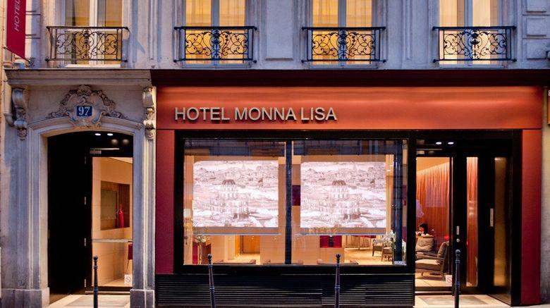 """Monna Lisa Paris Exterior. Images powered by <a href=""""http://www.leonardo.com"""" target=""""_blank"""" rel=""""noopener"""">Leonardo</a>."""