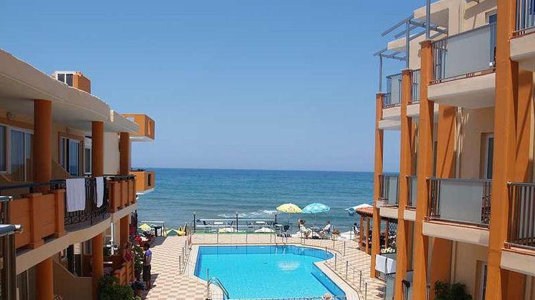 "Girogiali Beach Hotel Exterior. Images powered by <a href=""http://www.leonardo.com"" target=""_blank"" rel=""noopener"">Leonardo</a>."