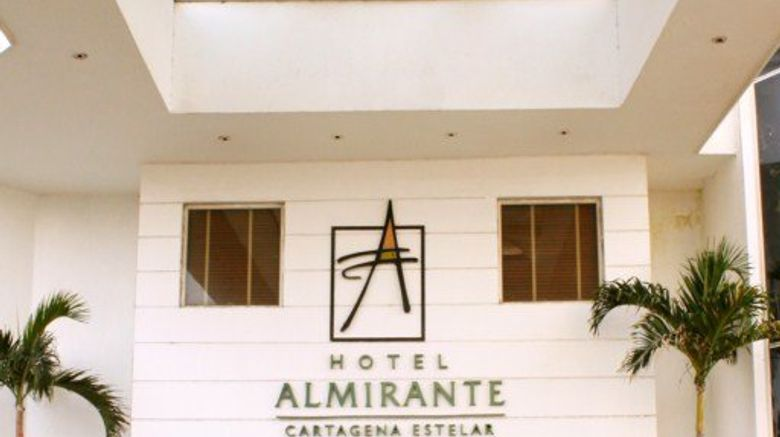"Hotel Almirante Cartagena Exterior. Images powered by <a href=""http://www.leonardo.com"" target=""_blank"" rel=""noopener"">Leonardo</a>."