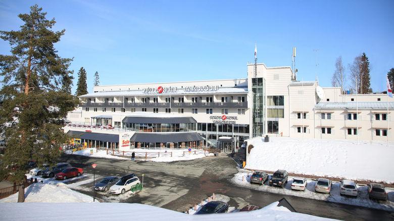 "Break Sokos Hotel Tahko Exterior. Images powered by <a href=""http://www.leonardo.com"" target=""_blank"" rel=""noopener"">Leonardo</a>."