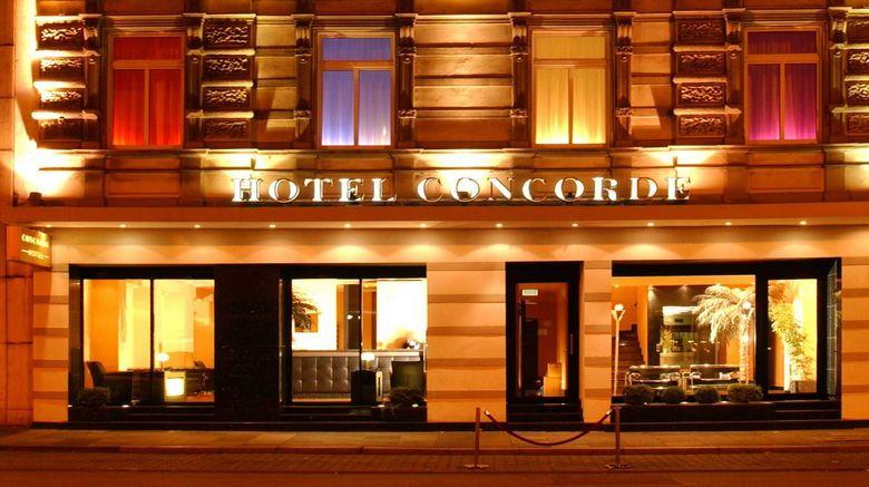 "Concorde Hotel Exterior. Images powered by <a href=""http://www.leonardo.com"" target=""_blank"" rel=""noopener"">Leonardo</a>."