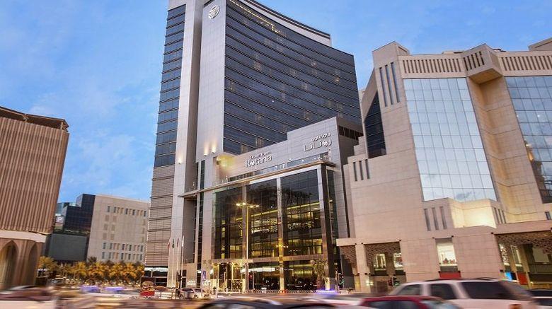 """Downtown Rotana Exterior. Images powered by <a href=""""http://www.leonardo.com"""" target=""""_blank"""" rel=""""noopener"""">Leonardo</a>."""