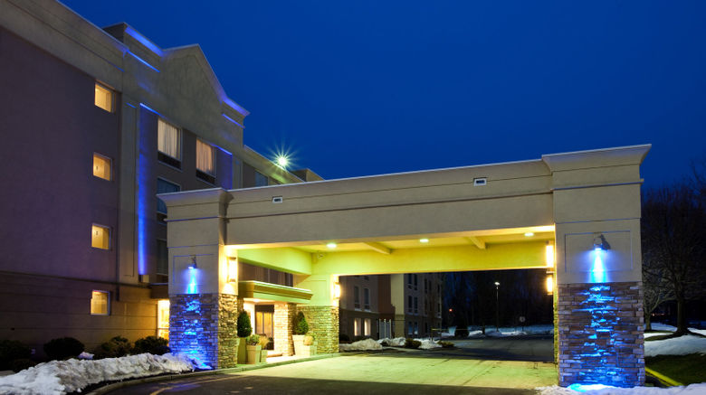 """Holiday Inn Express  and  Suites West Long B Exterior. Images powered by <a href=""""http://www.leonardo.com"""" target=""""_blank"""" rel=""""noopener"""">Leonardo</a>."""