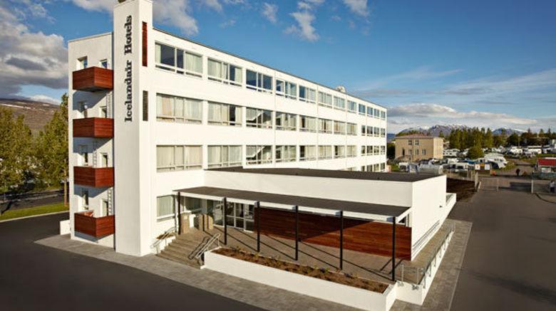 "Icelandair Hotel Akureyri Exterior. Images powered by <a href=""http://www.leonardo.com"" target=""_blank"" rel=""noopener"">Leonardo</a>."