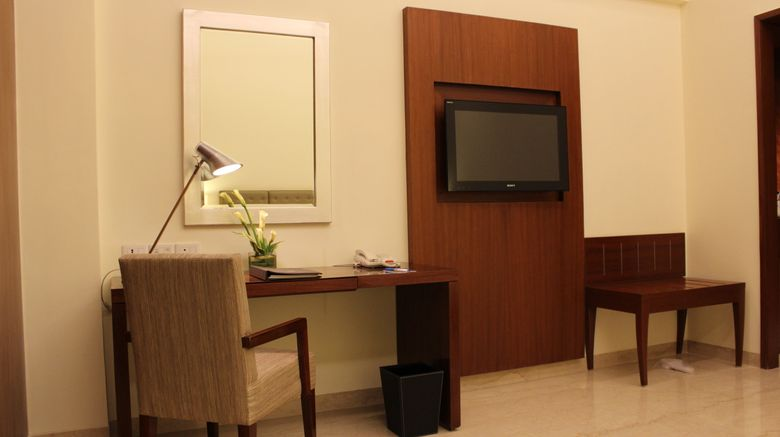"The Hans, New Delhi Room. Images powered by <a href=""http://www.leonardo.com"" target=""_blank"" rel=""noopener"">Leonardo</a>."