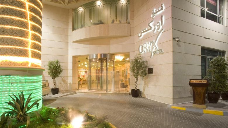 "Oryx Hotel Exterior. Images powered by <a href=""http://www.leonardo.com"" target=""_blank"" rel=""noopener"">Leonardo</a>."