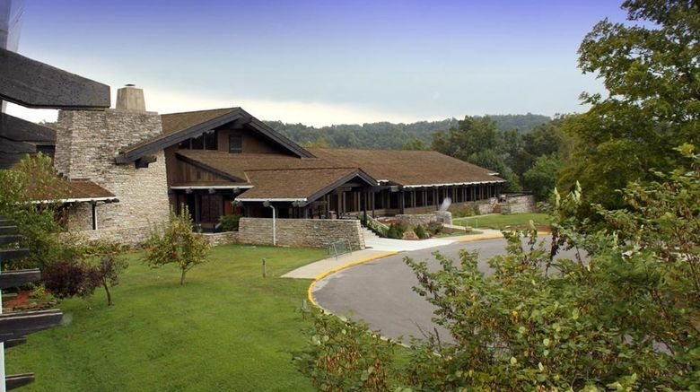"""Shawnee Lodge  and  Conference Center Exterior. Images powered by <a href=""""http://www.leonardo.com"""" target=""""_blank"""" rel=""""noopener"""">Leonardo</a>."""
