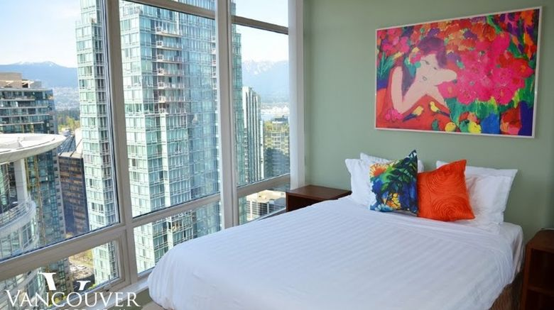 """Vancouver Extended Stay Room. Images powered by <a href=""""http://www.leonardo.com"""" target=""""_blank"""" rel=""""noopener"""">Leonardo</a>."""