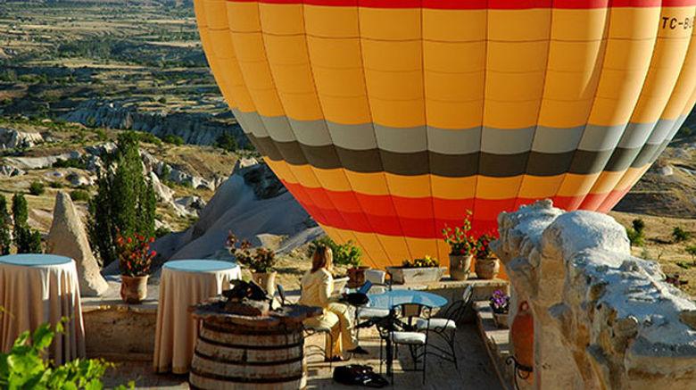 """Cappadocia Museum Hotel Exterior. Images powered by <a href=""""http://www.leonardo.com"""" target=""""_blank"""" rel=""""noopener"""">Leonardo</a>."""