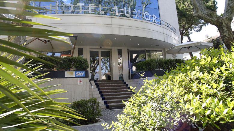 "Hotel Luxor Exterior. Images powered by <a href=""http://www.leonardo.com"" target=""_blank"" rel=""noopener"">Leonardo</a>."