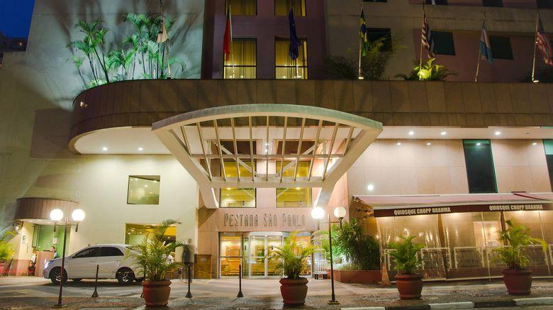 """Pestana Sao Paulo Hotel Exterior. Images powered by <a href=""""http://www.leonardo.com"""" target=""""_blank"""" rel=""""noopener"""">Leonardo</a>."""