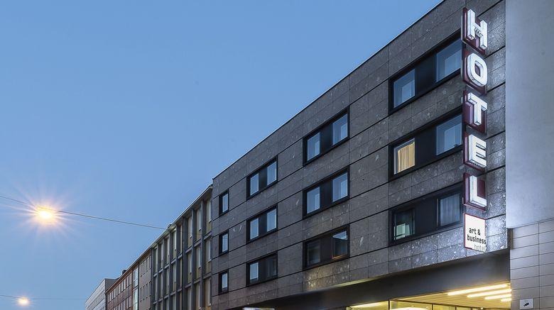 "Art And Business Hotel Exterior. Images powered by <a href=""http://www.leonardo.com"" target=""_blank"" rel=""noopener"">Leonardo</a>."