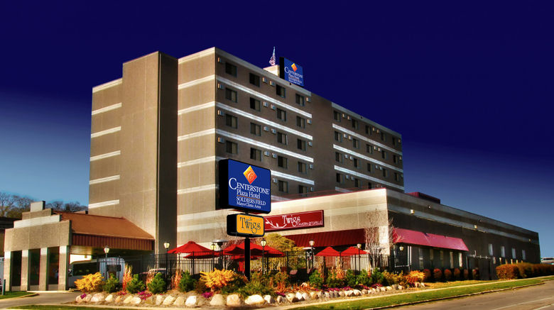 """Centerstone Plaza Hotel Soldiers Field Exterior. Images powered by <a href=""""http://www.leonardo.com"""" target=""""_blank"""" rel=""""noopener"""">Leonardo</a>."""