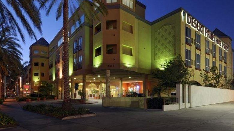 "Desert Palms Hotel  and  Suites Exterior. Images powered by <a href=""http://www.leonardo.com"" target=""_blank"" rel=""noopener"">Leonardo</a>."